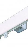 Hliníková kolejnička 1-drážková Bianco click
