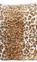 Kožešinový polštářek 98948 Snow Leopard