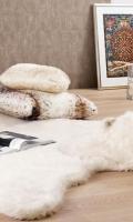 Kožešinový koberec Winter home 99394 Nanook Icebear