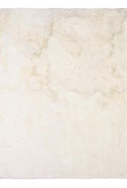 Kožešinový koberec 99666 White Mink
