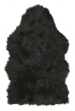 Kusový koberec 99682 Sheepskin Blackwolf