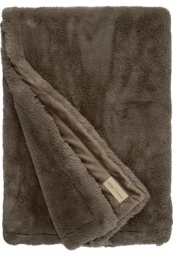 Kožešinová deka 98985 Guanaco smoke